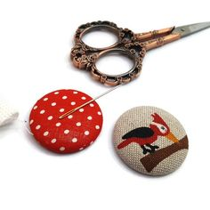 Woodpecker Needle Minder-Reversible Needleminder-Bird-Magnetic-Cross Stitch-Embroidery-Quilting-Sewing-Needlepoint-Woodland- Craft Supply Since I am a maker I have lost many a needles in my house only to later have them sticking out of my couch poking me in my butt. It was not pleasant. Cross Stitch Embroidery, Cross Stitch Patterns, Needle Minders, Pretty Designs, Christmas Shopping, Gifts For Him, Needlepoint, Wood Crafts, Craft Supplies