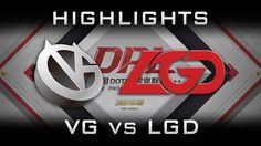 LGD vs VG DPL 2017 Highlights Dota 2