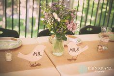 Mr. & Mrs. lovebirds - Erin Kranz Photography