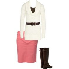 A fashion look from October 2013 featuring Reiss sweaters, VILA tops and Jackpot skirts. Browse and shop related looks.
