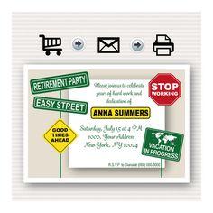 jist card template - retirement party invitations free templates fun stuff