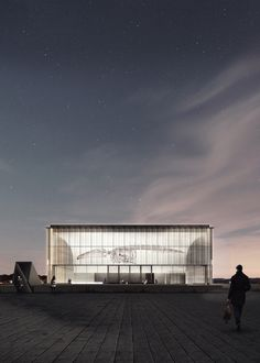 Centro Antártico Internacional, Albert Tidy + Cristóbal Riffo – BETA
