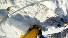 GoPro HD: Avalanche Cliff Jump with Matthias Giraud. Video by GoPro.