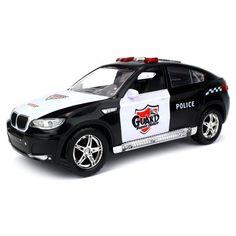 Police Car Super Guard SUV Black & White Kid's Bump & GO Toy Battery Operated   #VelocityToys #SUV