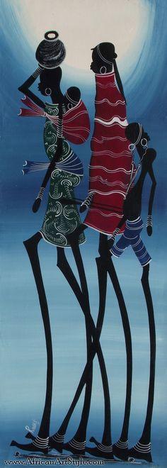 Maasai Art Painting