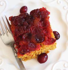 Cranberry Pumpkin Upside Down Cake Recipe on Yummly. @yummly #recipe