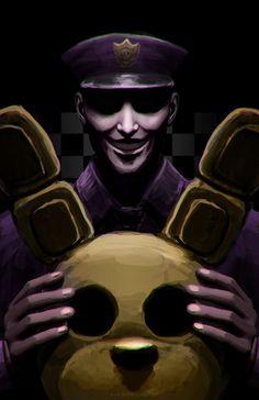 FNaF: Purple Guy by BritneyPringle on DeviantArt Five Nights At Freddy's, Dc Anime, Anime Fnaf, Freddy S, Fnaf Wallpapers, Good Horror Games, William Afton, Fanart, Fnaf Sister Location
