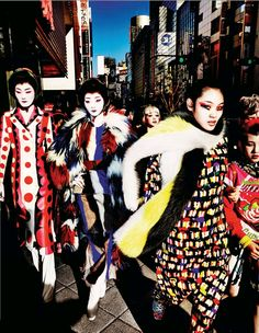 Chiharu Okunugi by Mario Testino for Vogue Japan November 2014