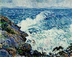 Squall from the east , 1905 ,by Theo van Rysselberghe