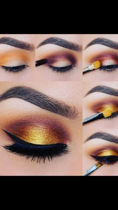 makeup for 70 year old woman makeup beginners without eye makeu Makeup Beginners Eye Makeu Makeup panda woman year de maquillaje de ojos Fall Eyeshadow, How To Apply Eyeshadow, Eyeshadow Makeup, Golden Eyeshadow, Neutral Eyeshadow, Eyeshadows, Makeup Inspo, Makeup Inspiration, Makeup Ideas