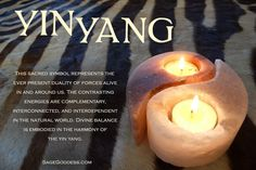 Find balance with #YinYang and welcome peace and tranquility into your life.