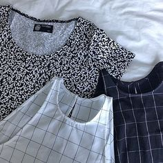 Thinking monochrome for back to school? @pheebzvz's #AmericanApparel #AABTS
