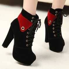 The New Winter Boots, Single Women In Spring And Autumn Fall Shoes Short Boots High Heels Boo. The New Winter Boots, Single Women In Spring And Autumn Fall Shoes Short Boots High Heels Boots Thick W Pretty Shoes, Cute Shoes, Women's Shoes, Me Too Shoes, Thick Heel Boots, Thick Heels, Heeled Boots, Ankle Boots, Rough Heels