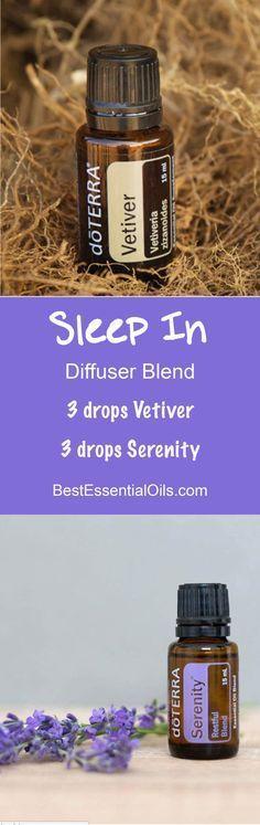 Sleep In doTERRA Diffuser Blend
