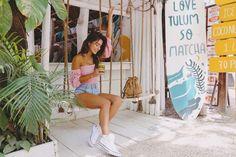 blusa ombro a ombro rosa pyetra mundo lolita, com manga caída, bufante, e modelagem justa é a peça perfeita para um look romântico e moderno. Tulum, 139, Matcha, World, Skinny, Pith Perfect, Modeling, Live Life, Trendy Tree