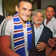 UFFICIALE: Grande entusiasmo a per l'arrivo di Gonzalo dal ha ora la punta che aveva chiesto per la sua // OFFICIAL: There was much enthusiasm by Sampdoria fans at Bergessio's arrival today. Mihajlovic now has the striker he had been asking for! Football Transfers, Catania, Fans, Couple Photos, Sweaters, Couple Shots, Couple Photography, Sweater, Couple Pictures