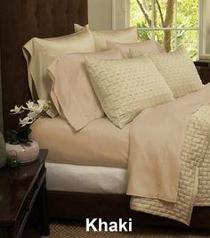 6 PC Set | 1800 Series Bamboo Fiber Bed Sheets | Jane
