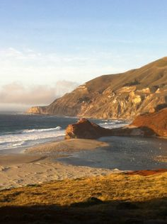 Pacific Coast Highway midway between LA and San Francisco
