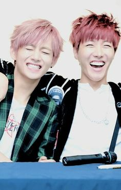 okay okay but tae and hobi actually give me life my ultimate bias Taehyung and bts bias wrecker J-Hope