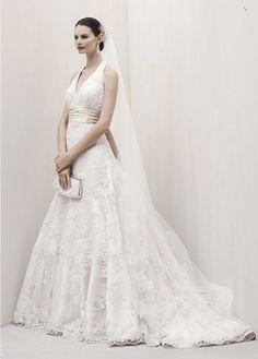 Oleg Cassini Spring 2012 + My Dress Of The Week - Belle the Magazine . The Wedding Blog For The Sophisticated Bride  http://www.bellethemagazine.com/2012/02/oleg-cassini-spring-2012-my-dress-of.html