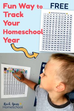 Use this fun & free printable chart to track your homeschool year! Awesome interactive & visual way to work with your kids to record your homeschool days. Homeschool Curriculum, Curriculum Planning, Homeschooling Resources, Lesson Planning, Record Day, Educational Websites, Educational Activities, Coding For Kids, Learning Resources