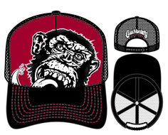 Gas Monkey Garage Baseball Hat by Concept One Accessories 5fb1252b7e0c