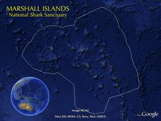 The #Marshall Islands are home to the world's largest #shark sanctuary.