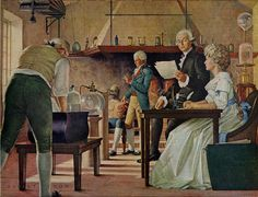 Lavoisier: Oxygen, Combustion, and Respiration. Greatest contribution of science to Medicine during the eighteenth century came from experiments relating to the processes of respiration, conducted between 1789 and 1792 by the Parisian chemist, Antoine Laurent Lavoisier, in his laboratory at the Royal Arsenal.