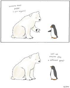 Las ilustraciones amables de Liz Climo