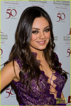 Mila Kunis at the St. Jude's 50th Anniversary Gala. Uhmm.. Can I be you?!!