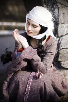 Model: Natalia Spitsyna (Antalika); Makeup artist: Natalia Kudelkina; Photographer: Anna Sergeeva; Suit: 12th century