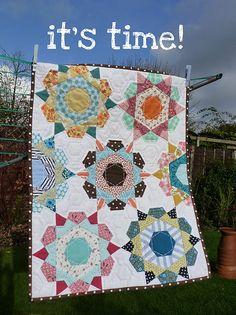 Rose Star Block Tutorial- English Paper Piecing!