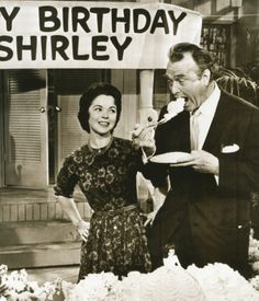 Shirley Temple and Red Skelton, 1963.