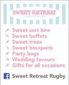 Just some of the delightful things we offer!