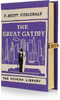 Olympia Le-Tan The Great Gatsby embroidered clutch Beautifully lined in a Liberty print, this vintage-inspired clutch will finish every look with playful Olympia Le Tan, Glamour Party, 1920s Glamour, Look Gatsby, Gatsby Style, John Lewis, Gatsby Book, Tiffany & Co., Book Clutch
