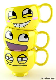Happy yellow mugs!