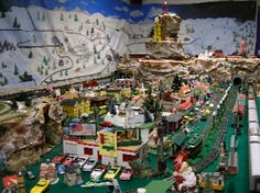 Another highly detailed layout with lots of trolleys and various activities going on within this theme. Very high quality work, appreciate it!