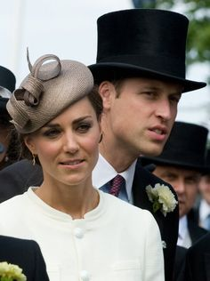 Kate Middleton and Prince William are looking extremely chic with their hats