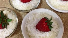 Coconut Tapioca Pudding - you could substitute maple syrup and cinnamon for vanilla and sugar.