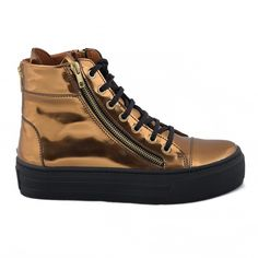 Sneakers. Ecological, breathable an anti-allergy. Availible also in gold.