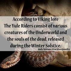 Viking Lore: Yule Riders