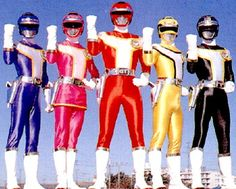 power rangers - my kids watched this, now my grandkids are watching it!