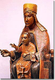 This black Madonna was worshipped in a storefront shrine in Manhattan's East Village.