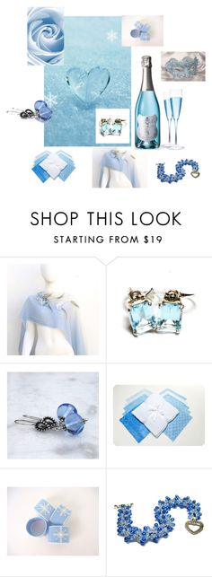 """Ice Blue Baby"" by lauriep78 ❤ liked on Polyvore featuring beauty and Masquerade"