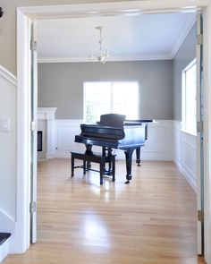 paint colors for light wood floorsBenjamin Moore Rockport Gray  House Stuff  Pinterest  Benjamin