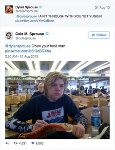 19 Times The Sprouse Twins Roasted Each Other On Twitter