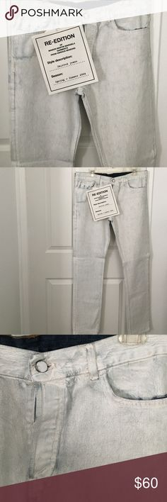 MENS Maison Martin Margiela for H&M Painted Jeans MENS Maison Martin Margiela for H&M Painted Jeans, brand new, never worn with tags / size: EUR 34 Maison Martin Margiela for H&M Pants