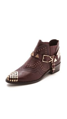 Ivy Kirzhner Santa Fe Studded Booties --these are beautiful but i'm honestly crying over the price, $615!!!