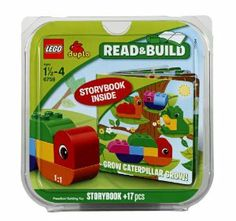 LEGO DUPLO 6758 Grow Caterpillar Grow by LEGO. $12.97. Inspire young minds with the iconic creatures. Teach your child to listen and build while having fun. Begin with a book, and build with the LEGO DUPLO bricks as your child listens along to the newest Bricks and Books set - Grow Caterpillar Grow. Features 17 colorful LEGO DUPLO bricks. Enables you to become a building mentor for your child. From the Manufacturer                Help your child learn to listen and...