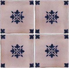 Hand painted, blue and white tile designs for the home. #homedecor #tiles #customtiles #artisantiles #handpainted #handmade